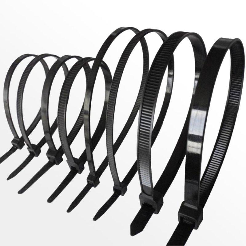 Kabelbinder 3,6 x 300 mm schwarz 100Stk., 7,50 €