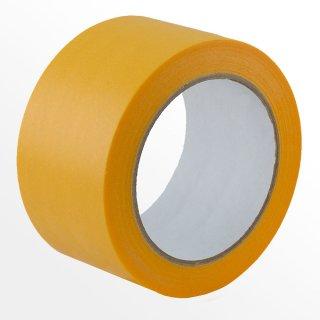 Klebeband Malerband Malerkreppband Abdeckband Gelb 3 Rollen Malerkrepp 50 mm x 50 Meter Abklebeband Kreppband