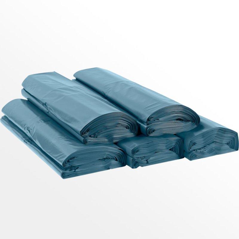 25 x hdpe blaue m lls cke beutel abfalls cke 240l stark typ 80 16 54. Black Bedroom Furniture Sets. Home Design Ideas
